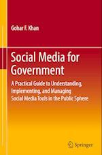 Social Media for Government (SpringerBriefs in Political Science)