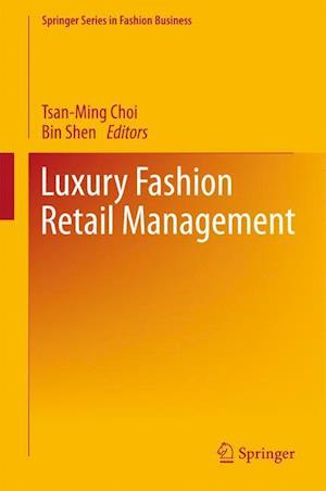 Bog, hardback Luxury Fashion Retail Management