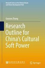 Research Outline for China's Cultural Soft Power