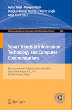 Smart Trends in Information Technology and Computer Communications (Communications in Computer and Information Science, nr. 628)