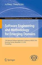 Software Engineering and Methodology for Emerging Domains (Communications in Computer and Information Science, nr. 675)