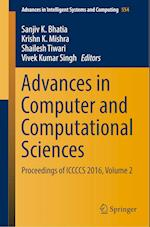 Advances in Computer and Computational Sciences (Advances in Intelligent Systems and Computing, nr. 554)