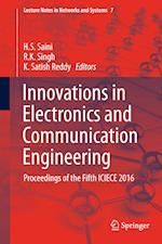 Innovations in Electronics and Communication Engineering (Lecture Notes in Networks and Systems, nr. 7)