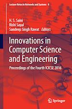 Innovations in Computer Science and Engineering : Proceedings of the Fourth ICICSE 2016