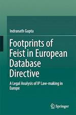 Footprints of Feist in European Database Directive : A Legal Analysis of IP Law-making in Europe