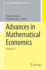 Advances in Mathematical Economics (Advances in Mathematical Economics, nr. 21)