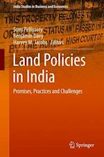 Land Policies in India (India Studies in Business and Economics)