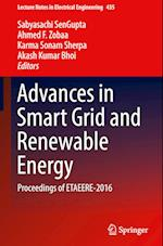 Advances in Smart Grid and Renewable Energy (Lecture Notes in Electrical Engineering, nr. 435)