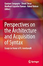 Perspectives on the Architecture and Acquisition of Syntax