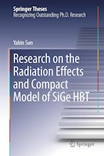 Research on the Radiation Effects and Compact Model of SiGe HBT