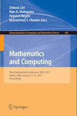 Mathematics and Computing : Third International Conference, ICMC 2017, Haldia, India, January 17-21, 2017, Proceedings