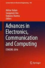 Advances in Electronics, Communication and Computing (Lecture Notes in Electrical Engineering, nr. 443)