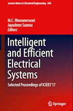 Intelligent and Efficient Electrical Systems (Lecture Notes in Electrical Engineering, nr. 446)
