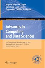 Advances in Computing and Data Sciences : First International Conference, ICACDS 2016, Ghaziabad, India, November 11-12, 2016, Revised Selected Papers
