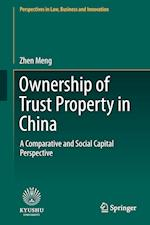 Ownership of Trust Property in China : A Comparative and Social Capital Perspective