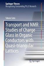Transport and NMR Studies of Charge Glass in Organic Conductors with Quasi-triangular Lattices