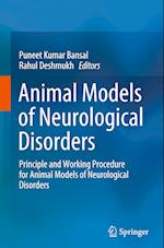 Animal Models of Neurological Disorders af Puneet Kumar