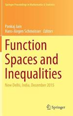 Function Spaces and Inequalities : New Delhi, India, December 2015