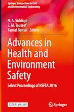 Advances in Health and Environment Safety (Springer Transactions in Civil and Environmental Engineering)