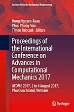 Proceedings of the International Conference on Advances in Computational Mechanics 2017 (Lecture Notes in Mechanical Engineering)