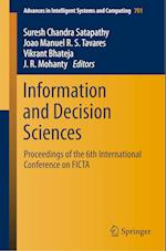 Information and Decision Sciences (Advances in Intelligent Systems and Computing, nr. 701)
