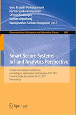 Smart Secure Systems - Iot and Analytics Perspective (Communications in Computer and Information Science, nr. 808)