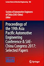 Proceedings of the 19th Asia Pacific Automotive Engineering Conference & SAE-China Congress 2017 af Society of Automotive Engineers of China