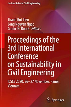 Proceedings of the 3rd International Conference on Sustainability in Civil Engineering