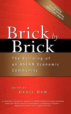 Bog, hardback Brick by Brick