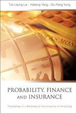 Probability, Finance and Insurance