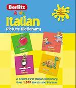 Italian Picture Dictionary (Berlitz Picture Dictionaries)