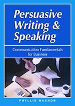 Persuasive Writing & Speaking