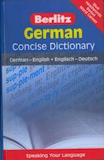 Berlitz Language: German Concise Dictionary (Berlitz Concise Dictionaries)