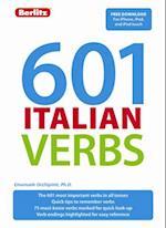 Berlitz Language: 601 Italian Verbs (Berlitz 601 Verbs)