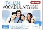 Berlitz: Italian Vocabulary Study Cards (Berlitz Vocabulary Study Cards)