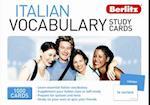 Berlitz Language: Italian Vocabulary Study Cards (Berlitz Vocabulary Study Cards)