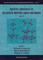 RECENT ADVANCES IN QUANTUM MONTE CARLO METHODS - PART II (Recent Advances in Computational Chemistry)