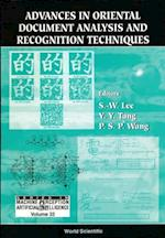 ADVANCES IN ORIENTAL DOCUMENT ANALYSIS AND RECOGNITION TECHNIQUES (Series in Machine Perception and Artificial Intelligence)