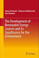 Development of Renewable Energy Sources and its Significance for the Environment
