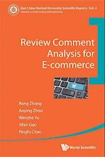 Review Comment Analysis for E-Commerce af Aoying Zhou