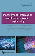 Management Information and Optoelectronic Engineering - Proceedings of the 2016 International Conference