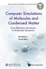 Computer Simulations Of Molecules And Condensed Matter: From Electronic Structures To Molecular Dynamics (Peking University world Scientific Advanced Physics Series)