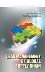 Lean Management Of Global Supply Chain (Japanese Management and International Studies, nr. 12)