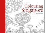 Colouring Singapore Postcards