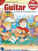 Guitar Lessons for Kids - Book 1 (Progressive Young Beginner)
