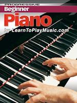 Piano Lessons for Beginners (Progressive Beginner)