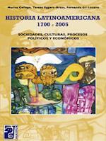 Historia latinoamericana 1700-2005 af Teresa Eggers Brass, Marisa Gallego, Fernanda Gil Lozano