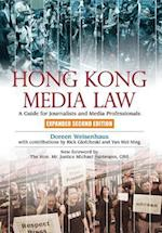 Hong Kong Media Law af Doreen Weisenhaus