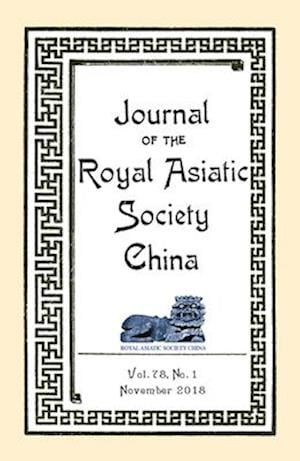 Journal of the Royal Asiatic Society China November 2018