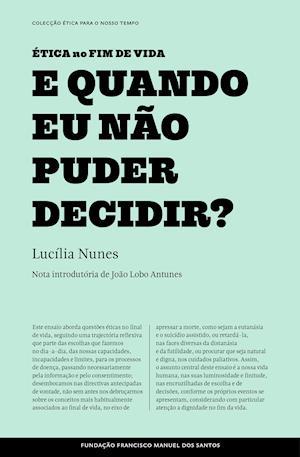 E Quando Eu Não Puder Decidir? af Lucília Nunes
